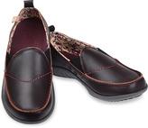 Spenco Bordeaux Siesta Leather Slip-On Sneaker