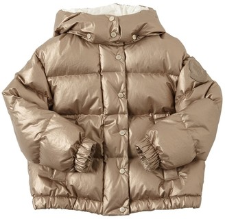 Moncler Daos Coated Cotton Down Jacket
