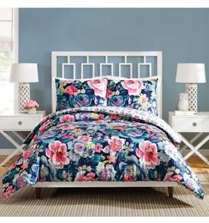 Vera Bradley Garden Grove Full/Queen Comforter Set - 3Pc