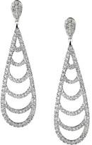 Jan Logan 18ct Diamond Monaco Earrings