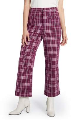 ModCloth Plaid Crop Knit Pants