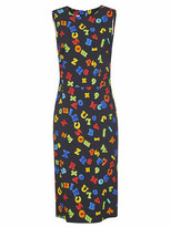 Moschino All-over Printed Sleeveless Dress