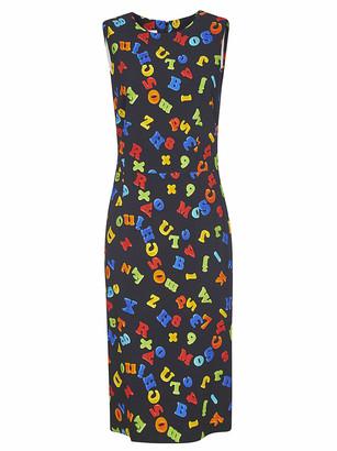 Moschino All-over Printed Sleeveless Dress