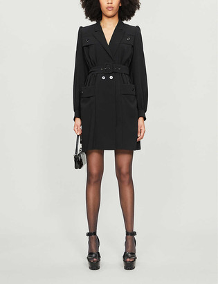 The Kooples Tailored puff-sleeve dress