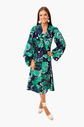 By Malene Birger Bright Green Freesia Dress