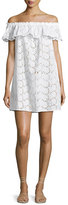Tory Burch Broderie Coverup Dress, White