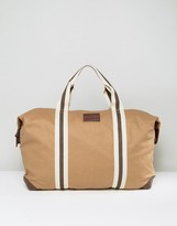 French Connection Canvas Holdall Bag