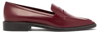 Fabrizio Viti - Penny Leather Loafers - Womens - Burgundy