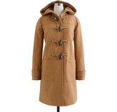 J.Crew Toggle coat in wool-cashmere with Thinsulate®