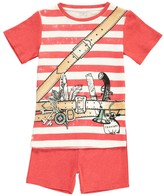 Stella McCartney Louie Striped Adventurer Pyjama T-Shirt + Shorts