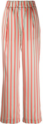 Jejia Striped Print Trousers