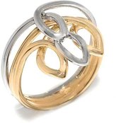 Tatitoto Only Gold Women's Ring in 18k Gold, Size 6.5, 5.5 Grams