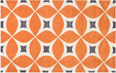 nuLoom Zinnia Rug, Deep Orange