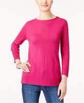 Karen Scott Rolled-Neck Sweater, Created for Macy's