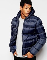 French Connection Padded Jacket - Navy