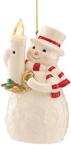 Lenox Whimsical Blow Out Lights Snowman Ornament