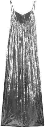 Amen wide-leg metallic jumpsuit