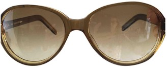Oliver Goldsmith Brown Plastic Sunglasses