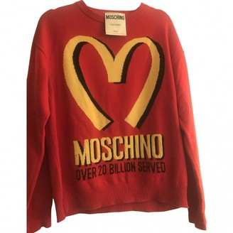 Moschino Red Cashmere Top for Women