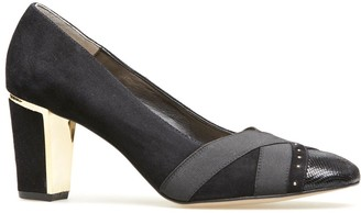 Van Dal Women's Ash Closed-Toe Heels
