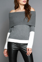 Do & Be Off Shoulder Sweater