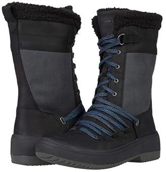 Merrell Haven Tall Lace Polar Waterproof (Black) Women's Shoes