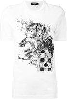 DSQUARED2 sketch motif t-shirt