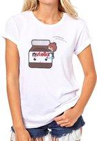 ANGRYDEER Nutella Jar Om Niom Niom Nutella Very Good Quality Womens T-Shirt