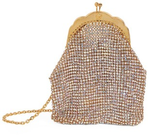 Versace Embellished Shoulder Bag