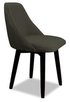 Bronx Delores Upholstered Dining Chair Ivy Upholstery Color: Granite