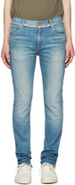 Christian Dada Blue Signature Super Skinny Jeans