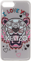 Kenzo Grey i Love You Tiger Iphone 7 Plus Case