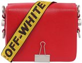 Off-White Off White Binder Clip Leather Shoulder Bag
