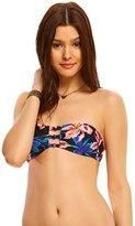 Roxy Dreamin' Florida Knotted Bandeau Bikini Top 8142147
