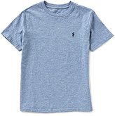 Ralph Lauren Big Boys 8-20 Solid Short-Sleeve Tee