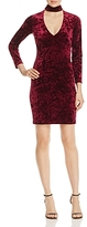 Bardot Cutout Velvet Sheath Dress - 100% Exclusive
