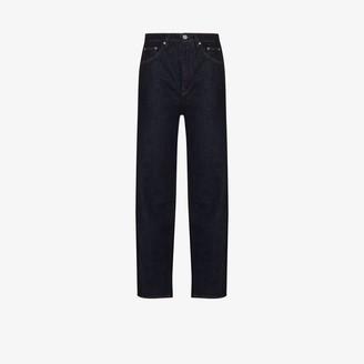 Totême High Waist Barrel Leg Jeans