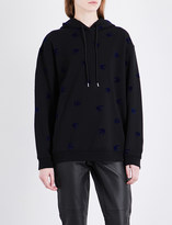 McQ Swallow cotton-jersey hoody