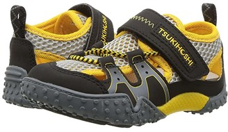 Tsukihoshi Ibiza 2 (Toddler/Little Kid) (Black/Yellow) Boys Shoes
