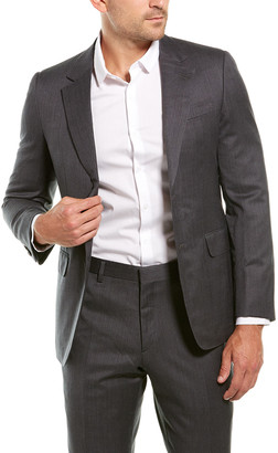 Brioni 2Pc Wool Suit With Flat Pant