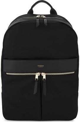 Knomo Women's Black Mayfair Beauchamp Backpack