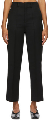 AURALEE Black Wool Max Serge Trousers