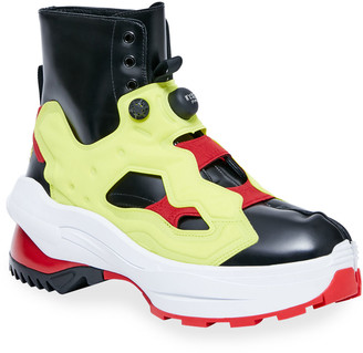 Maison Margiela x Reebok Men's Instapump Tabi Fury Lo Boots