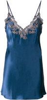 La Perla lace trim camisole - women - Silk/Polyester/Polyamide/Viscose - 1
