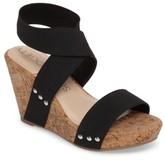 Sole Society Women's Analisa Platform Wedge Sandal