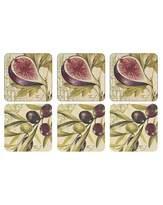 Pimpernel Olives & Figs Coasters