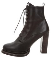Henry Beguelin Lace-Up Granny Ankle Boots