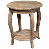Asstd National Brand Rustic Reclaimed Wood End Table