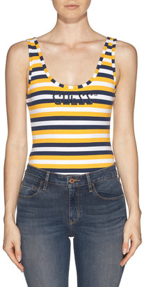 GUESS Sl Stripe Logo Bodysuit