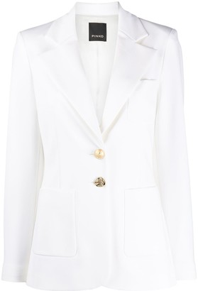 Pinko Fitted Single Breasted Blazer
